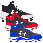 New Mens Under Armour Heater Mid TPU Baseball Cleats Shoes - Choose Size & Color