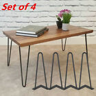 """8"""" 12"""" 16"""" 28"""" Hairpin Coffee Table Legs DIY Metal Set of 4 Home Furniture Parts"""