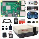 2018 Raspberry Pi 3 B+ (B Plus) NESPi Case+ Plus Kit (Lot), Free HS & Fan