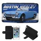 Personalised Austin Healey Sprite iPhone Flip Case Classic Car Phone Cover CL02