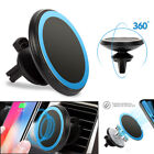 Qi Wireless Car Charger Magnetic Air Vent Mount Holder For Apple Samsung LG