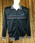 POD CLOTHING BLACK ZIPPED-UP FRONT SPORTS TOP SIZE LARGE