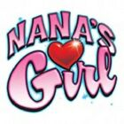 naans girl t-shirt infant Baby Shower gift birthday US Size newn x
