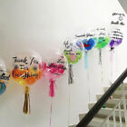 Clear Transparent Big Balloons NO Wrinkle Birthday Party Decor 10/18/24/36 inch