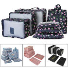 Travel - 7Pcs/Set Packing Cubes Travel Zipper Clothes Storage Bag Luggage Neat Packer USA