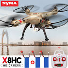 RC Quadcopter 2.4G 4CH 6-Axis Gyro Syma X8C HD Camera Big Drone +4GB Card