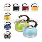 KitchenAid Porcelain Whistle Kettle with C Handle & Trim Ban