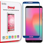Dooqi Full Coverage Tempered Glass Screen Protector For Huawei Honor View 10