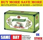 SENNA TEA NATURAL DETOX COLON CLEANSING LAXATIVE WEIGHT LOSS 1-20 BOXES