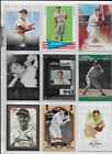 Stan Musial 20 diff HOF Lot - 8 Inserts - Cardinals
