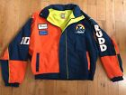 Ricky Rudd Tide Racing Nascar jacket Vintage Ford Thunderbird 50th Anniversary L