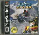 Sno-Cross Championship Racing Sony PlayStation PS1 2000 Snowmobile Video Game