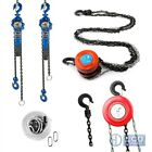Chain hoist 180 kg 750 kg 1000 kg 1500 kg winch latch hooks pulley lifting tools