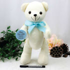 Personalised Baptism Signature Bear - Blue Bow - Add a Name & Message