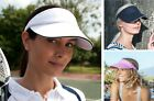 Sun Visor Vizor Golf Hat Sports Tennis Adjustable Headband Cap Women Ladies