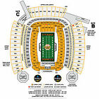 TWO ( 2 ) AWESOME Pittsburgh Steelers vs CAROLINA PANTHERS AUG 30 8/30 SEC 509