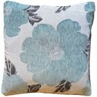 """Soft LUXURY Polyester Chenille Floral Printed Cushion Covers 18"""" Cover -"""