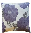 """NEW Soft LUXURY Polyester Chenille Floral Printed Cushion Covers 18"""" Cover /"""