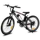 ANcheer Powerful 26'' Folding Electric Mountain Bike Bicycle Ebike 250W 36V 2018