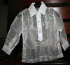 BARONG TAGALOG FOR BOYS  SIZE 2  MAY FIT TO 1-2 YEARS OLD BOYS