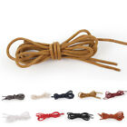 Laces 70-150cm Dress Color Shoe Cotton Strings Strong Sport Round 9 Waxed Cord