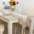 Runner New Table Hollow & Decor Embroidered Floral Lace Wedding Cloth Fabric