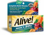 Nature's Way Alive! Men's 50+ Multi-Vitamin Tablets, 50 Ct (2 Pack)