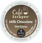 Cafe Escapes Milk Chocolate Hot Cocoa 24 to 144 K cups Pick Any