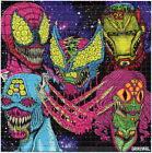 Monster Heroes by Rob IsraeI LE BLOTTER ART Perforated acid free lsd paper sheet