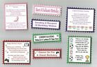 4 Male Or Female Birthday Greeting Card Craft Verse Toppers W/WO Sentiments