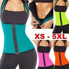 1x Extreme Neoprene Slimming Yoga Women Sauna Belt Shaper Zipper Vest Body Sweat