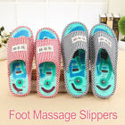 Health Soft Massage Slippers Acupuncture Sandals Reflexology Foot Acupoint Shoes