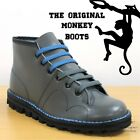 Grafters The Original Monkey Boots Men's Women's & Kids Retro 60's Grey Shoes