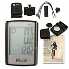 Waterproof Wired Wireless Cycling Bike Computer LCD Bicycle Speedometer Odometer