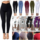 Women's Skinny Pencil Pants Leggings Stretch Ripped Trousers