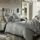 7 Piece Bedding Set Kylie Minogue Bedding CADENCE Silver Grey Duvet Quilt Cover