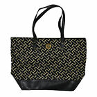 Tommy Hilfiger Purse Womens Shoulder Bag Tote Jacquard Th Pattern Shopping New