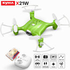 Mini RC Drone Syma X21W FPV Real Time HD Wifi Camera Quadcopter For Boy Gift Toy