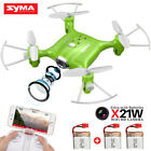 Mini Pocket RC Quadcopter Syma X21W WiFi Camera FPV Selfie Drone 2.4G 4CH 6Axis