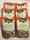 Seeds of Change Quinoa and Brown Rice with garlic, 8.5 Ounce Pack of 6 Organic