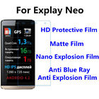 3pcs For Explay Neo High Clear/Matte/Nano Explosion/Anti Blue Ray Screen Film