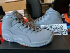 Nike Air Jordan Retro X 10 Cool Grey Suede White Multi Color NRG Gray 310805 022