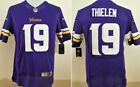 Adam Thielen #19 Minnesota Vikings Purple NFL Game Jersey
