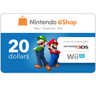 Nintendo eShop Gift Code $20 $35 or $50 - Fast Email Delivery