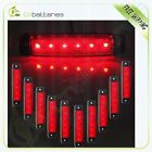 10) Clearance Red Light Side Marker 6Led for Van Truck Trailer Truck 12V
