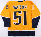 Austin Watson Signed Nashville Predators Jersey (Beckett COA) 3rd Line Center