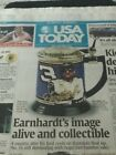 DALE EARNHARDT'S-IMAGE ALIVE & COLLECTIBLE-USA TODAY-JUNE 22-2001 PAPER