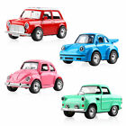1:38 Classic Alloy Mini Music-playing Diecast Model Car Pull Back Decor Toy Cars