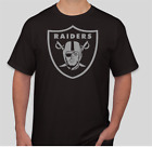LAS VEGAS LA OAKLAND RAIDERS BLACK SHIRT LOGO BRAND NEW T-SHIRT FOOTBALL S-2XL