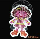 PP Perler Hama Beads 5mm General Template Pegboard Funny DIY Toys For Kids